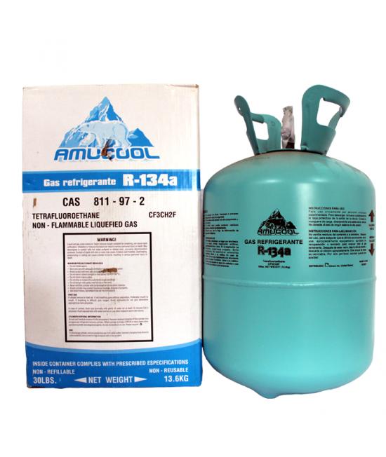 REFRIGERANT GAS BAL. R-134A 13.600KG AMUCOOL
