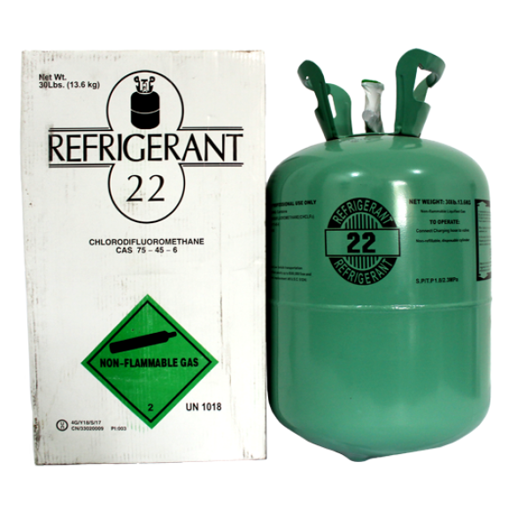 REFRIGERANT GAS BAL. R-22 13,600 Kg. REFRIGERANT