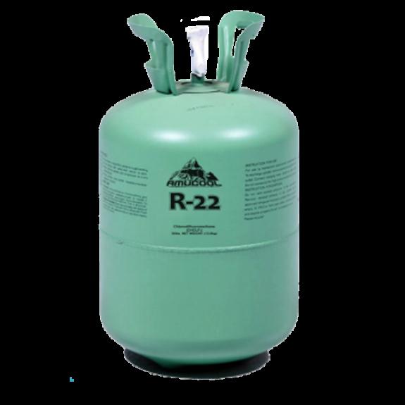 REFRIGERANT GAS BAL. R-22 13,600 Kg. AMUCOOL