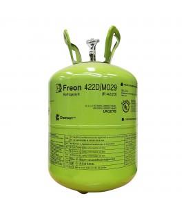 GAS REFRIGERANT 422D DUPONT USA 11.350 KG