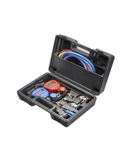 DIGITAL MANOMETER GAUGE SET-COMPLETE SET MOD HS-5200A