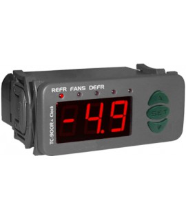 DIGITAL CONTROL FULL GAUGE TC-900 RI CLOCK / 10 115/230 VAC